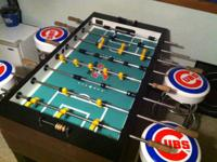Selling a used authentic Tornado Foosball table.  In