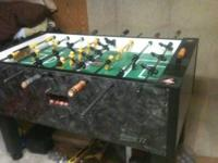 For sale is a Tornado Foosball Table Storm II. I bought