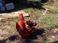 HI, UP FORSALE IS AN OLDER TORO SNOWBLOWER , 20""