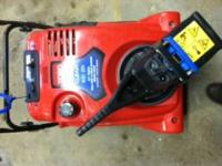 Toro Power clear single stance snow blower used a few
