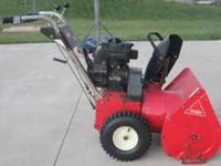 "Toro 24"", 6 HP, 2 Stage snowblower for sale. Runs good."
