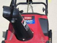 TORO 3650 SNOW THROWER Hard to find Toro 3650 2 cycle