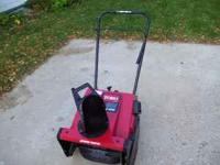 Up for sale is a used very little clean unit a Toro