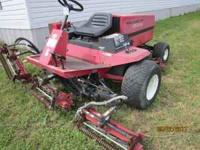 Toro 5100 with Kubota Diesel Starts runs and works ,was