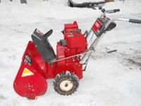 Toro 524 Snowblower 5hp Tecumseh Engine with Recoil and
