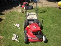 I have a working Toro lawn mower in good condition I
