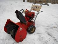 I have for sale a Toro snowblower. This is powered by a