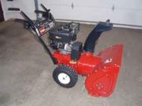 I have for sale a 2002 Toro 924 Powershift snowblower