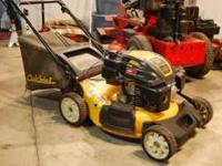 Cub Cadet approx. 4yrs. old, rear whee drivel self