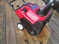 i have a really nice toro ccr 3650 electric start
