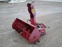 This is a 4ft toro dingo snow blower attachment. It