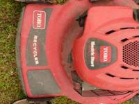 TORO SELF PROPELLED MOWER WITH ELECTRIC START.........