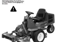 Excellent commercial or Professional 3 - Reel mower