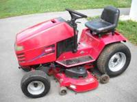 17 HP Kohler V-Twin runs great, foot controled