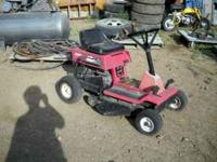Small riding lawnmower - not running - no compression.