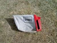 Nice rear bag for an older Toro mower. . Location: