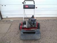 Used Toro Greensmaster 1000 Reel Mower 800.00 dollars