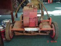 antiqe reel mower. call or text  Location:
