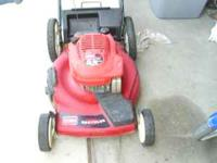 I have a toro mower selfpropelled in good condition,