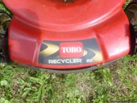 "TORO Personal Pace Lawnmower 22"" Cut or"