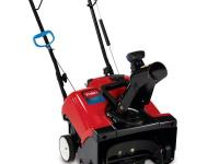 The Toro Power Clear Single-Stage 18 in. Gas Snow