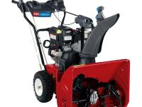 Finally an easy to use two-stage Snow blower. The Power