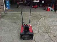 I have for sale a nice TORO_ POWERLITE Snow-blower .