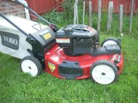 "TORO RECYCLER 22"" 6.75HP SELF-PROPELLED LAWN MOWER ~IN"