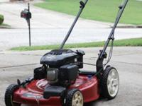 3-year-old Toro Recycler lawn mower with a Kohler