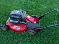 "TORO 21"" self-propelled super recycler mower, SR-21SE,"