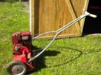 For sale a toro reel mower in excellent condition,