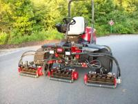 2007 TORO 5510 REELMASTER 4 x 4 FAIRWAY REEL LAWN MOWER
