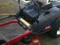 I am selling my riding Lawnmower. I am asking $1800.00