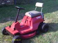 I have a ridding Toro lawn mower with a 7 H.P. tecumseh