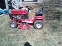 I have forsale a Toro riding lawn mower it is in great