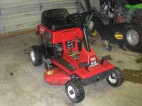 i have a toro riding lawntractor for sale. it is 25""
