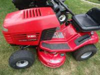Toro Wheelhorse riding mower 14-38. Tilt wheel. Very