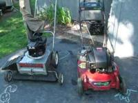Toro Recycler mower, 3 speed mulching mower no bag.