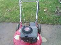 Self-propelled toro push mower, runs good. I am selling