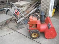 This snowblower runs great, call  Location: west side