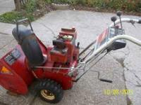 TORO Snow blower for sale 5HP and 24 inch clearing