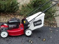 TORO SNOW BLOWER AND 2010 TORO LAWN MOWER - COMBO 2012