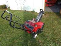 Toro CCR 200E 4.5 Horse Power 2 Cycle Electric Start