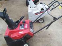 THIS IS A NICE TORO CCR 1000E RUNS GOOD LOOKS NICE CASH