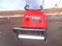 I HAVE A NICE TORO SNOWBLOWER IT WORKS GREAT FOR MORE