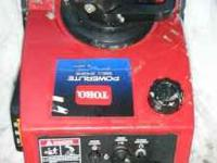 Toro Powerlite Snowblower for sale, asking $70 Only a