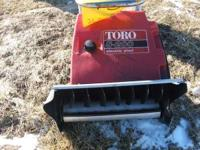 toro s-200 snowblower fresh carb cleaning runs great