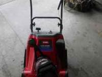 Selling a like new Toro CCR 2450 Snowblower. It has the