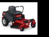 End of model year clearance on all in stock Toro