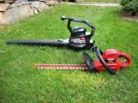 Toro Ultra 225 electric leaf blower/vac like new with